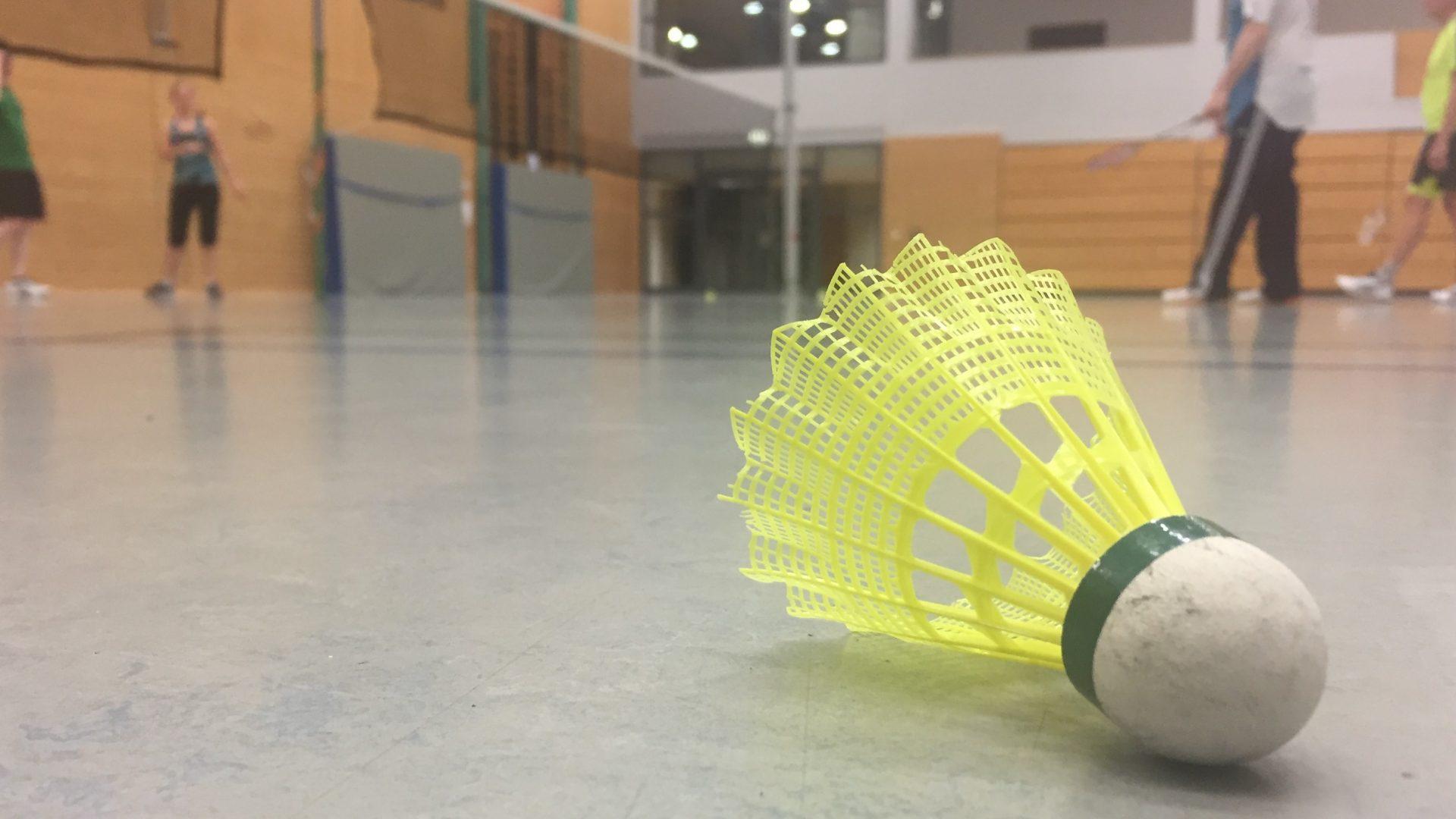 Lust auf eine Runde Badminton?