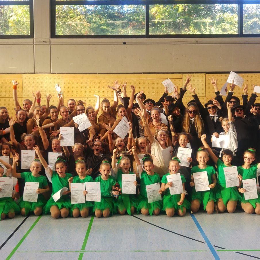 Finale Landeswettkampf Dance am 24.11. in Straubenhardt