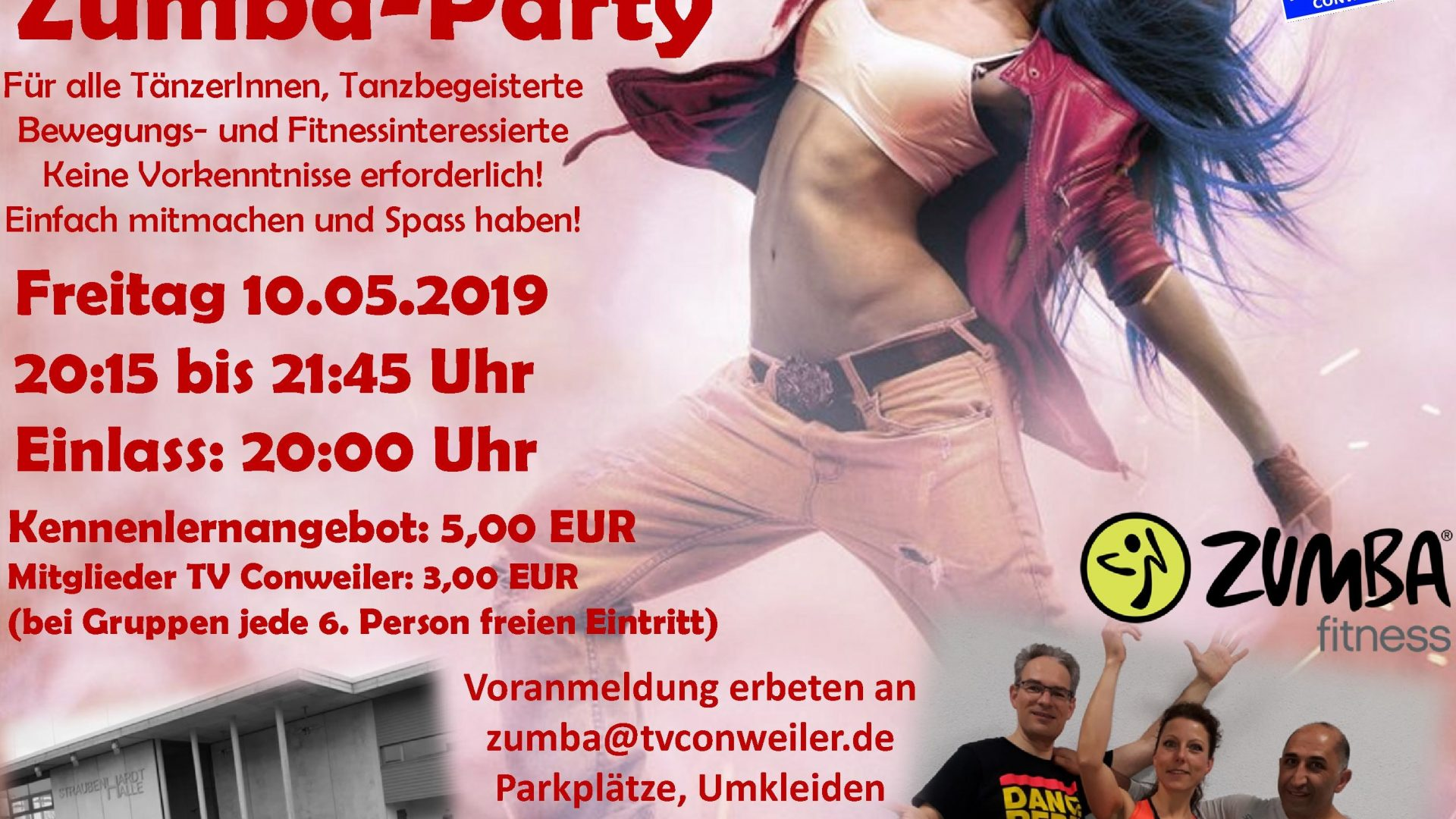 Dance- und Zumba-Party