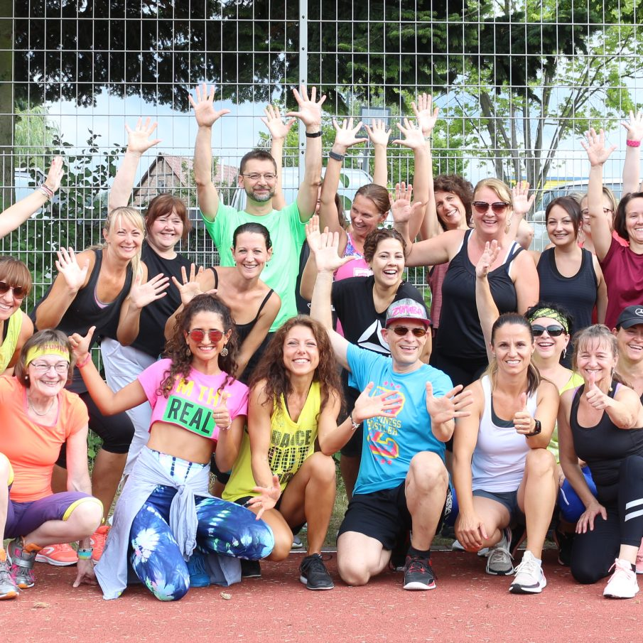Zumba-Party mit Alice Kollmann