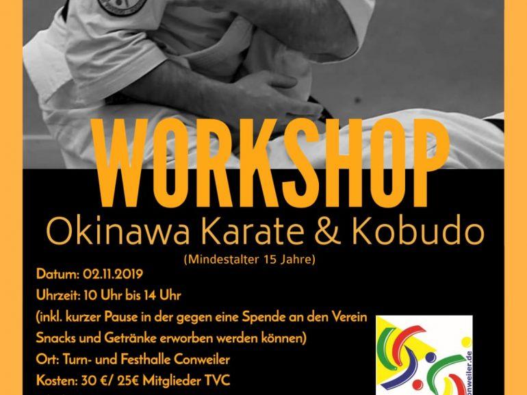Karate- und Kobudo-Workshop