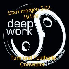 Kursstart deepWork