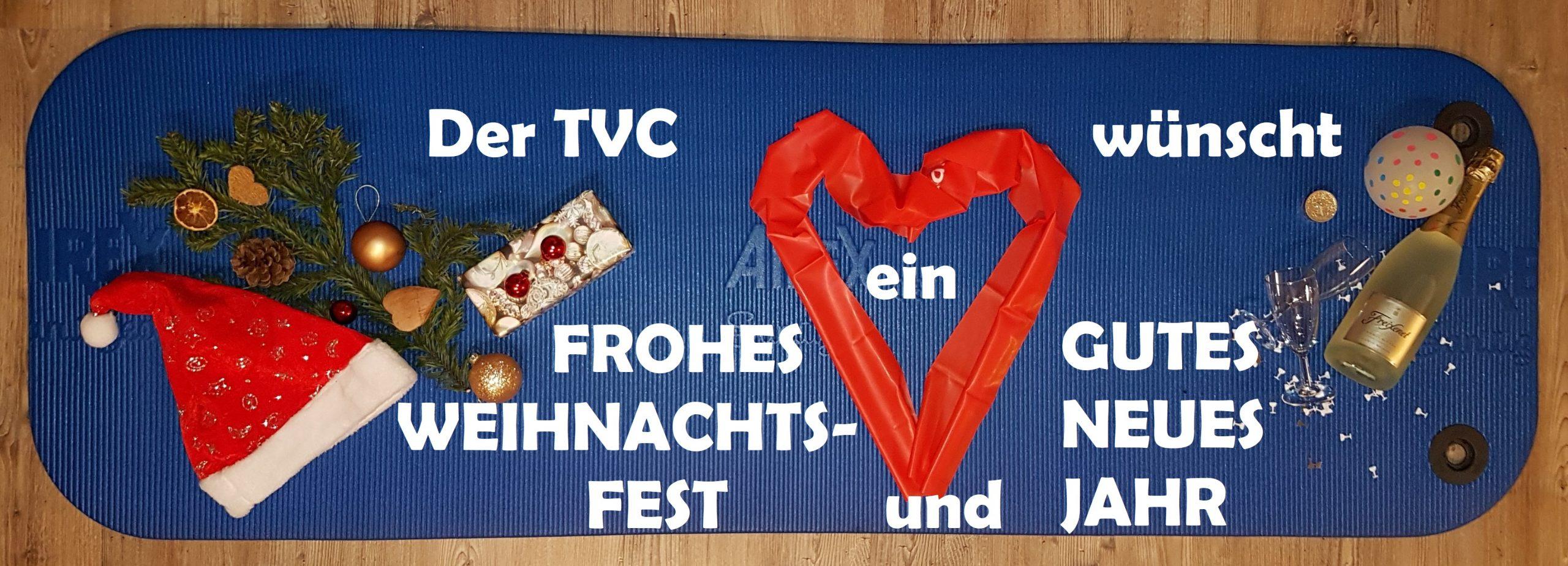 Weihnachts- und Neujahrsgruß TV Conweiler