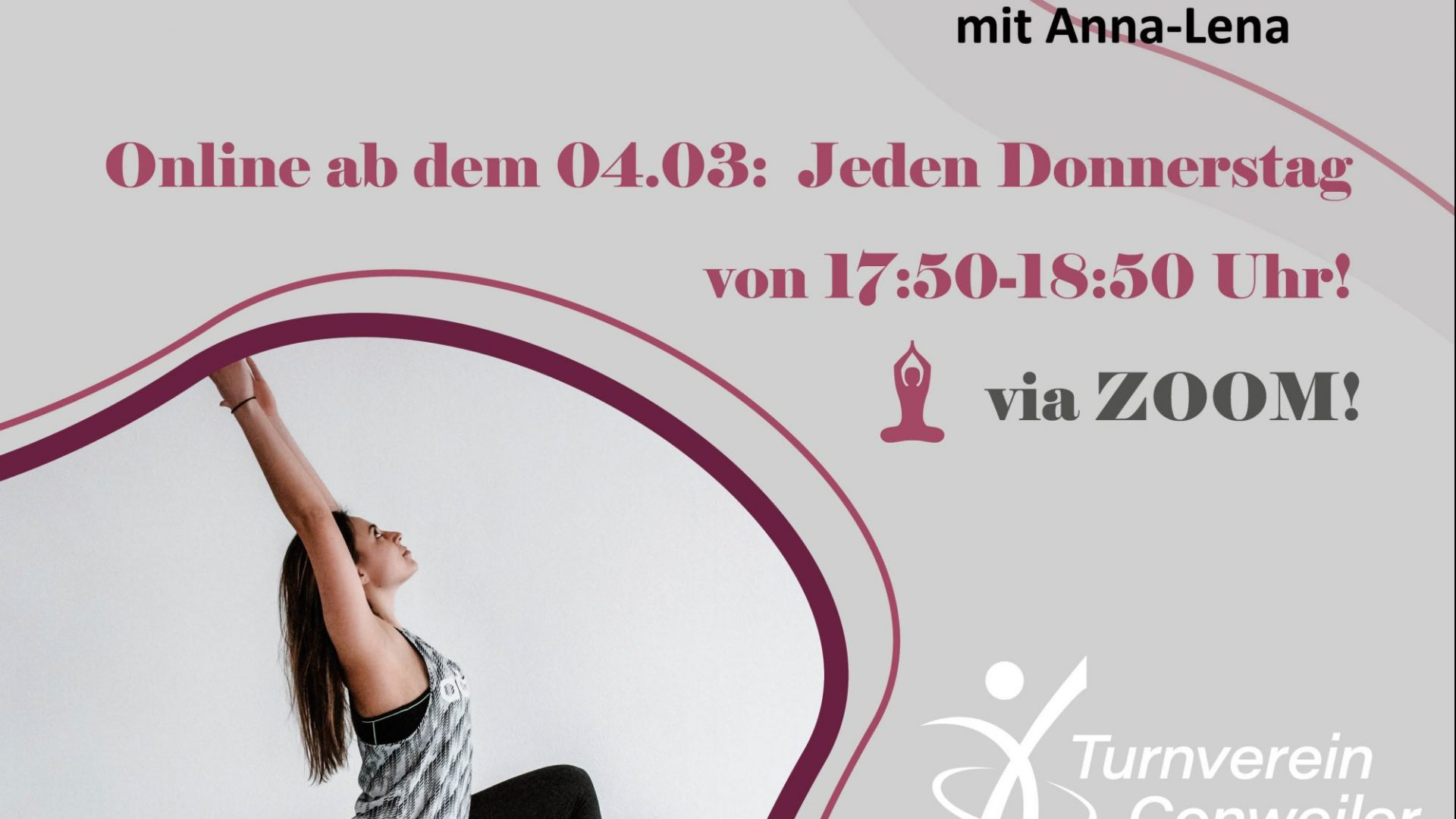 Neuer PILATES-Kurs mit Anna-Lena! Ab 04.03. Online!